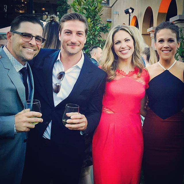 Great night at @hallmarkchannel TCAs 2016 with these people! #hearties #filmfamily #reunited