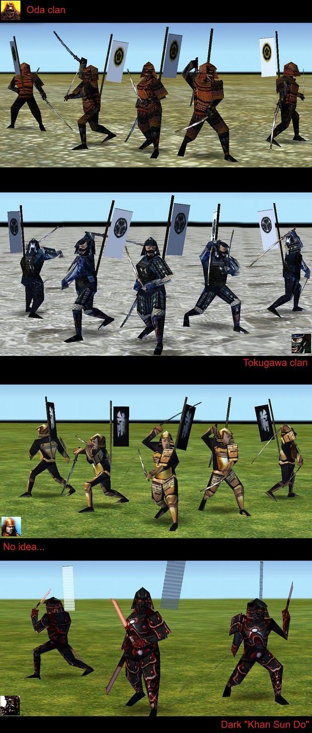 Empire Earth: Samurai Warriors 4 New Skins