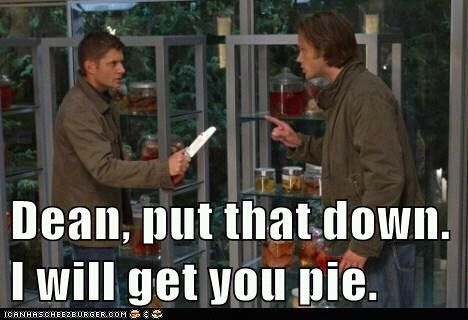 This, Ladies and gentlemen is how Sammy will snap Dean from the first Blade's claws.