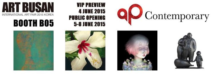 Please join AP Contemporary at Art Busan from 5 - 8 June 2015 ( VIP Preview at 4 June 2015)! We are at booth B05 and we are going to present: Alexander Zakharov / Sonya Man Yi Fu / Gago Chtchyan / Olga Tobreluts / Xinggang Wang / Vladimir Potapov  Stay tuned for more information!  General inquiries, please contact Sally at info@apcontemporary.com VIP pass / general admission, please contact Catherine at catherine.yim@apcontemporary.com