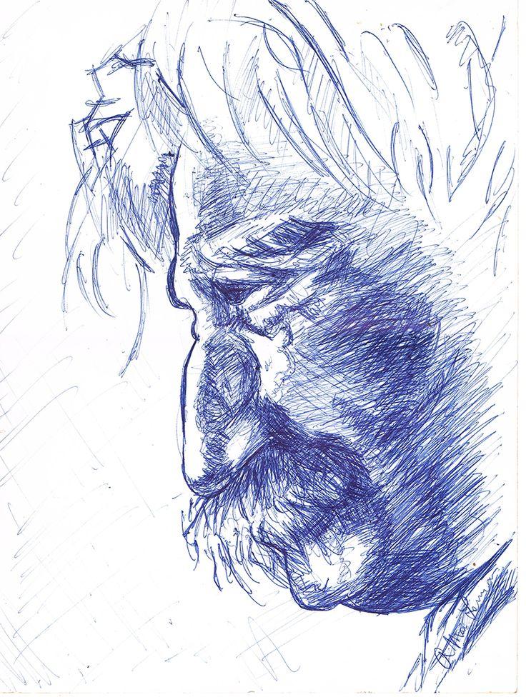 Biro drawing 2