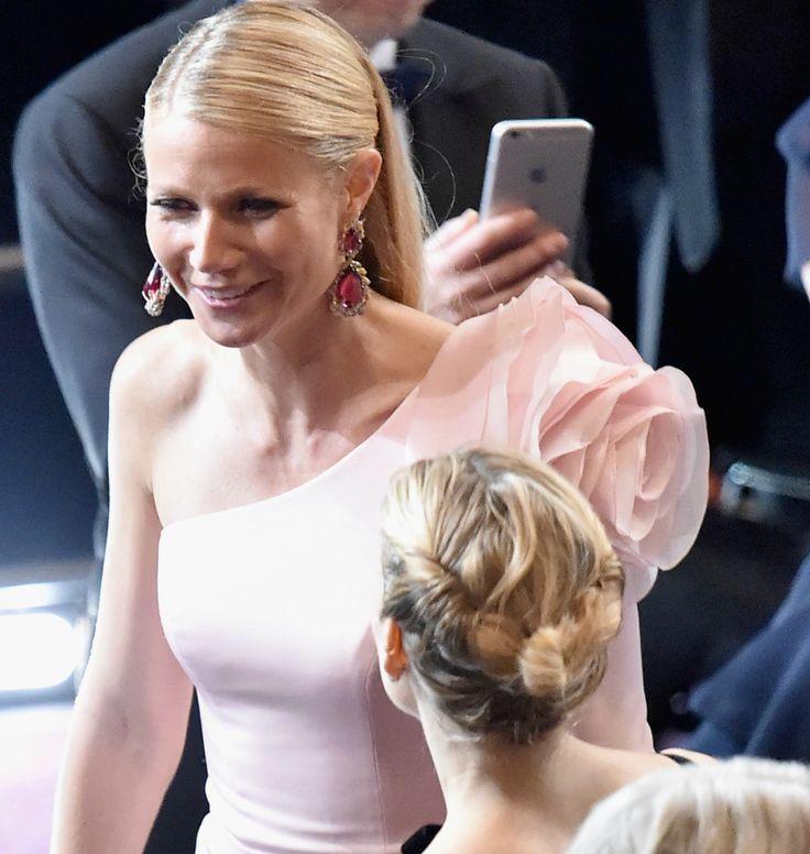 Oscar 2015 – maquiagens e cabelos | Dia de Beauté - o coque da Sienna de outro ângulo