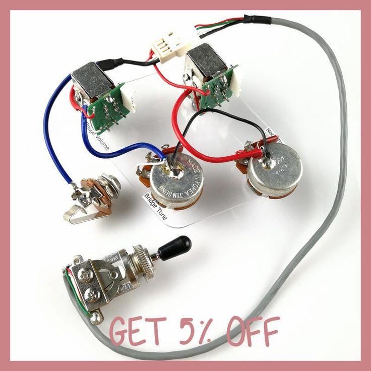 1 Set Lp Sg Electric Guitar Pickup Wiring Harness Push