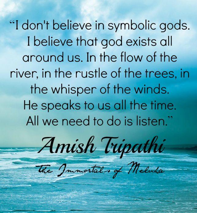 Amish Tripathi Quote , The Immortals of Meluha #Shiva #Mahadev #Quote