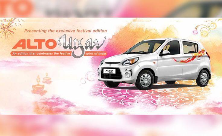 Maruti Suzuki Alto 800 Utsav Edition Launched