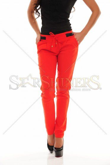 Pantaloni PrettyGirl Trusty Red