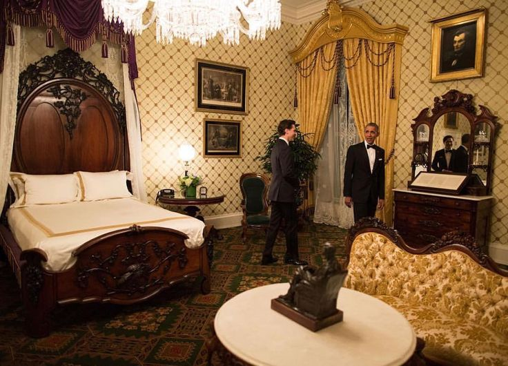 """President Obama shows Canada PM Justin Trudeau the Lincoln Bedroom which has a signed copy of The Gettysburg Address in a place that no American should ever call a """"dump"""". - @petesouza - - #BarackObama #MichelleObama #POTUS #FLOTUS #usa  #MaliaObama #SashaObama #forevermypresident #womensmarch  #forevermyfirstlady #FOREVER44  #problack  #feminism#colors#world  #obamafamily_forever_44  #mypresident  #blacklivesmatter  #trumpisnotmypresident #donaldtrump #notmypresident…"""