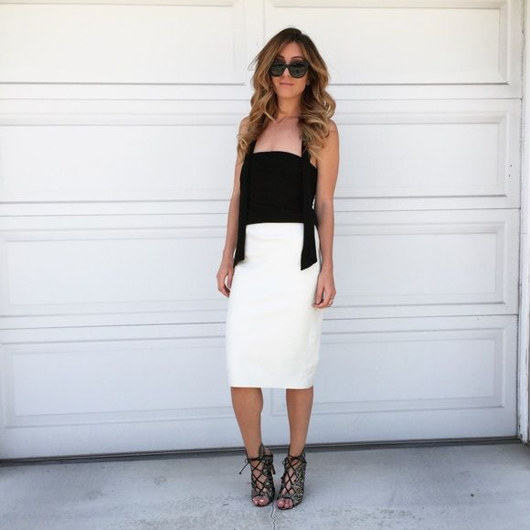 25 best ideas about white leather skirt on