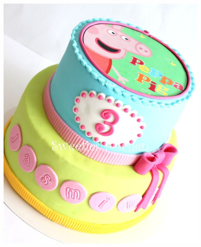 Children's Birthday Cakes - Peppa Pig birthday cake