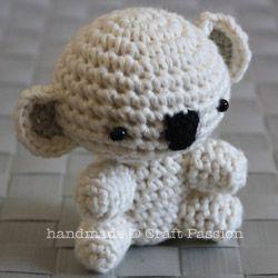 Crochet Pattern for Amigurumi Koala Bear