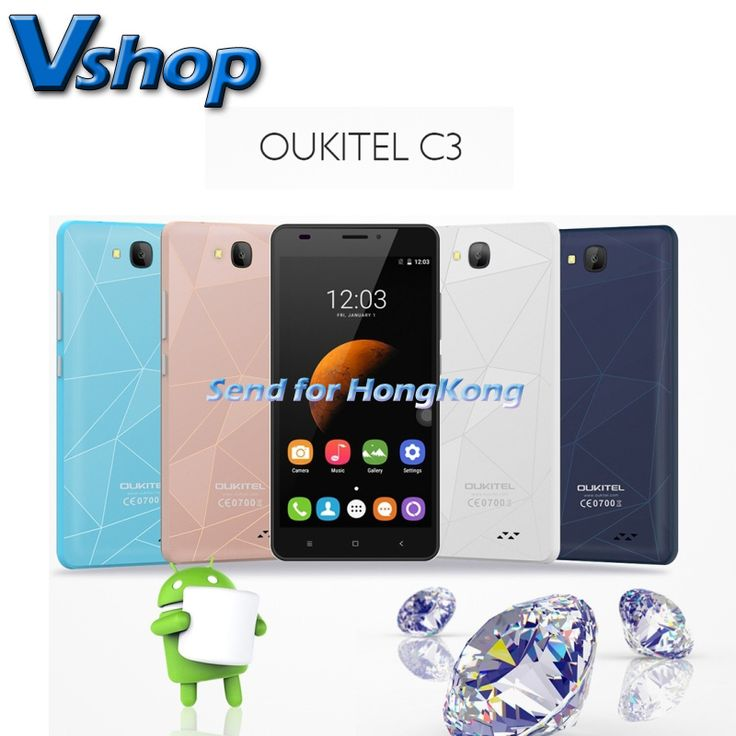 Original OUKITEL C3 Android 6.0 3G WCDMA Smartphone 5.0 inch RAM 1GB ROM 8GB Dual SIM MTK6580 Quad Core 1.3GHz Phone GPS WIFI     Tag a friend who would love this!     FREE Shipping Worldwide     Buy one here---> https://shoppingafter.com/products/original-oukitel-c3-android-6-0-3g-wcdma-smartphone-5-0-inch-ram-1gb-rom-8gb-dual-sim-mtk6580-quad-core-1-3ghz-phone-gps-wifi/