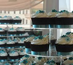 wedding cupcake ideas blue - Google Search