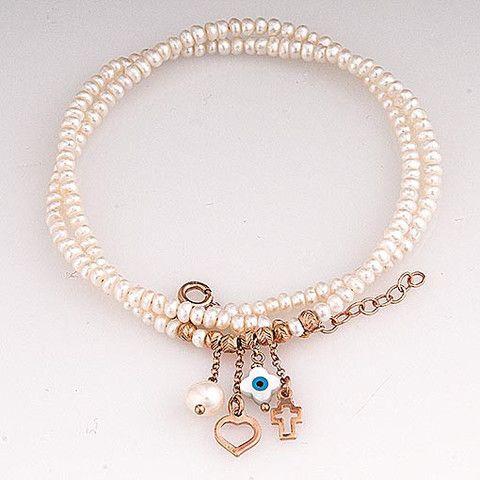 Handmade Pearls Necklace