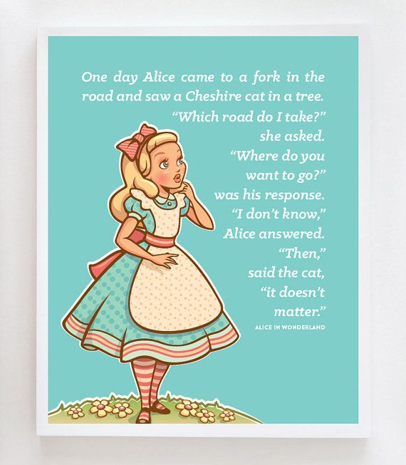 alice in wonderland a different approach All of us can learn something about ourselves from alice in wonderland – if only we look in the right way as we approach the book's 150th anniversary , bbc future follows her journey to the .
