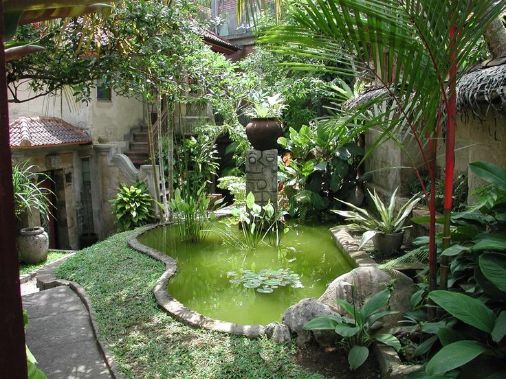 Terrific hotel courtyard inspiration in bali with for Bali landscape design