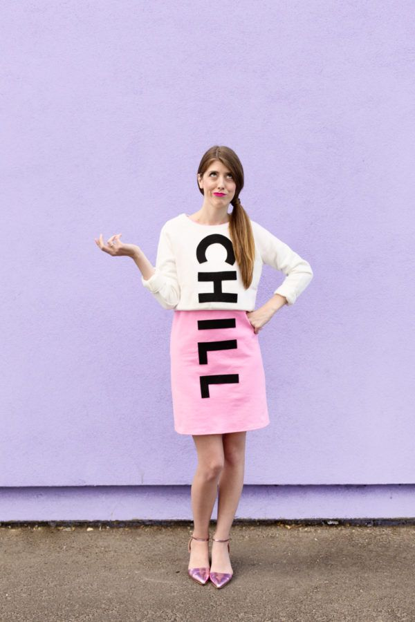 DIY Chill Pill Costume | studiodiy.com