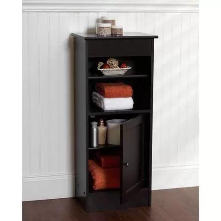 Zenith products linen floor stand espresso decor ideas for Zenith bathroom cabinets