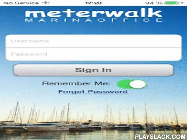 MeterWalk  Android App - playslack.com , MeterWalk is a mobile app for marinas, boatyards, RV Parks, and other rental properties using the MarinaOffice management solution that wish to perform mobile utility meter reads and/or perform rental space occupancy monitoring and recording. METER READ Easily perform utility meter readings with the MeterWalk meter entry feature. Record up to three meter readings per slip or rental space and easily sync back to the MarinaOffice marina management…