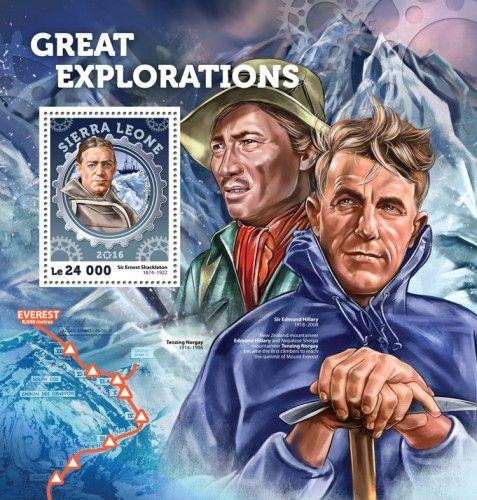 SRL16402b Great Explorations (Sir Ernest Shackleton (1874-1922) the Endurance ship)
