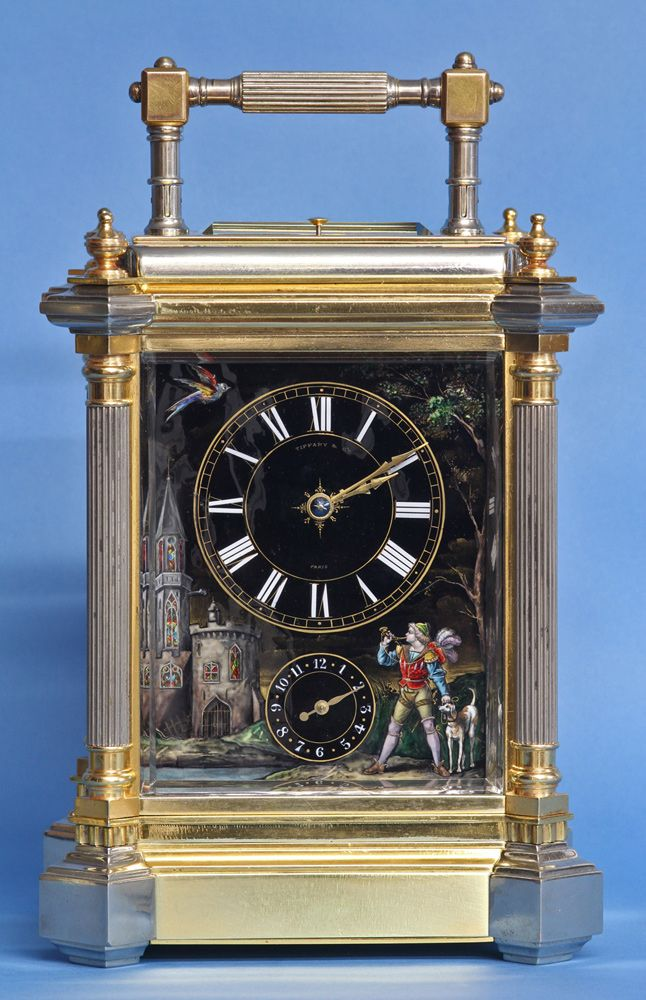 c.1895 French Giant Grand-Sonnerie Carriage Clock.