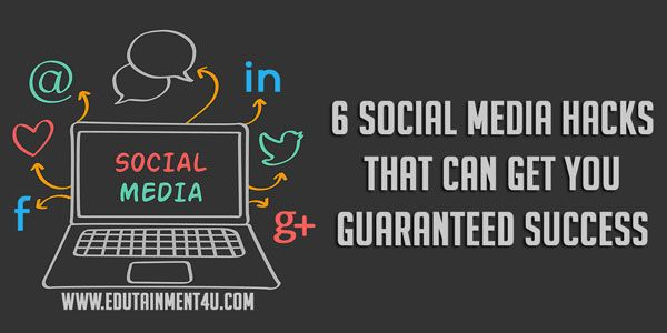 6 #socialmediamarketing  Hacks to Get you Guaranteed Success. http://bit.ly/1MQVwmr  #socialmediatips   #marketingtips   #marketingstrategy   #onlinemarketing   #digitalmarketing   #growthhacking