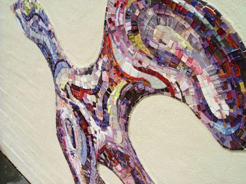 Dove Mosaic Commission