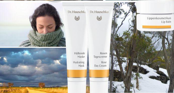 Beat the winter skin with Dr Hauschka.  Hydrating Mask (formerly Moisturising Mask), Rose Day Cream and Lip Balm.  #winter #drhauschka #rosedaycream #hydratedskin #lipbalm #beautifulskin #wellness #healthyskin #absoluteskinau