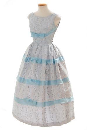 Vestido de cocktail - 1950's  Doação: Rute Gebler   Foto: Joaquim Araújo