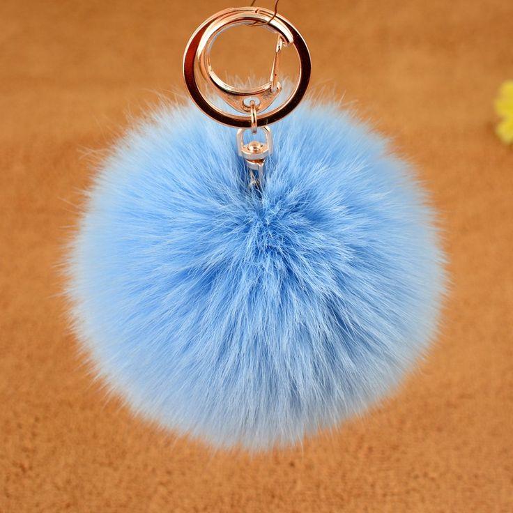 Wholesale 2016 Christmas gift Fur Pompons/Racoon Fur Pom Poms Balls/Hot Sale…
