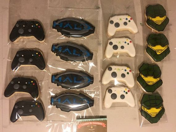 Cookies Halo Halo Party Favors Halo Birthday Halo