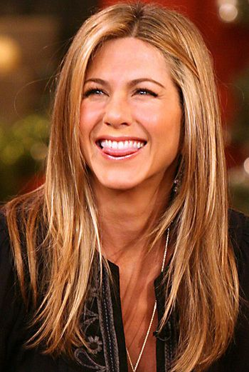 Jennifer Aniston. Her hair is perfect
