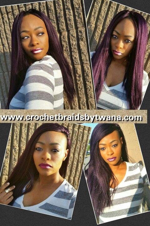 Crochet Braids With Xpressions Kanekalon Hair : ... braids protectivestyl crochetbraids braids kanekalon crochet braids