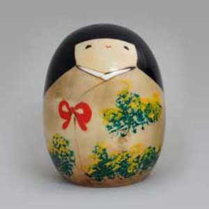BESTJAPAN  Japanese Kokeshi Doll -Haru (Spring)  #kokeshi #japanese #usaburo #japan