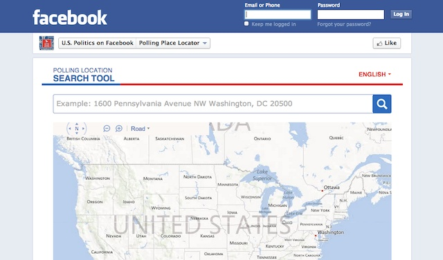 It's #ElectionDay & @facebook is hoping its polling place locator tool is helping guide you to the polls