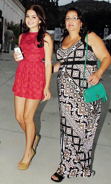 Ariel Winter and her mother on July 19, 2012 in Los Angeles, California.