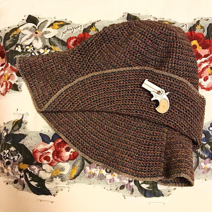 アヴリル糸の帽子