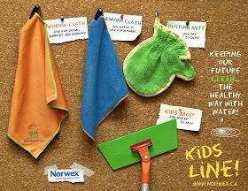Rebecca Lange - Norwex Independent Sales Consultant: Norwex is for kids too!