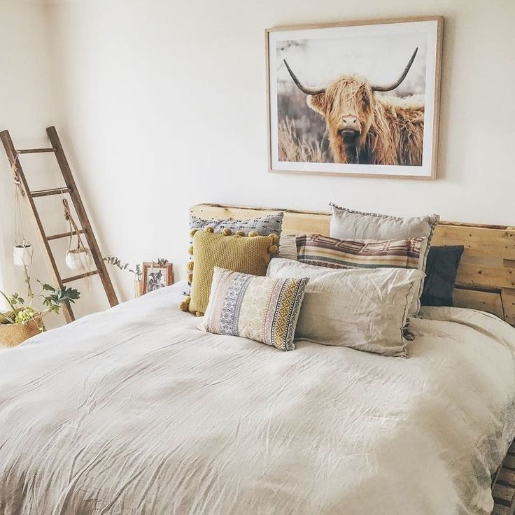 We always love seeing where your The Block Shop purchases end up. And we also love seeing how talented you are with your styling! Here's the gorgeous 'Woolly Bovinae' in the magazine-worthy bedroom of @liveforthetale. Shop the print for your own home by searching 'woolly' at http://ift.tt/1v9jaEU #theblockshop #9theblock #theblock #blockshopper #bedroom