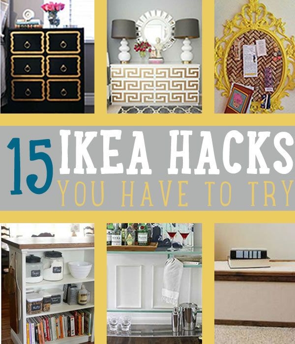 You'll surely love these IKEA hacks we have for you. These IKEA furniture hacks will surely have you going to the nearest IKEA store.