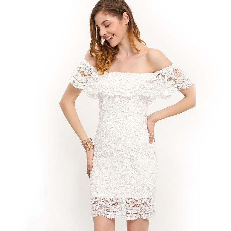 Women Clothing Lace Casual Ladies Dress Vestido Lace Party Dresses Sexy
