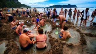 Warm water beach