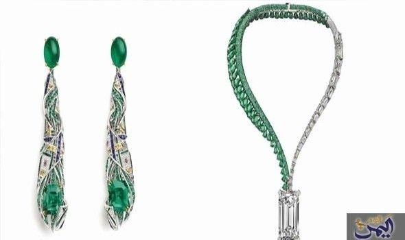الزمرد حجر كريم يضاهي الألماس فخامة Drop Earrings Jewelry Turquoise Necklace