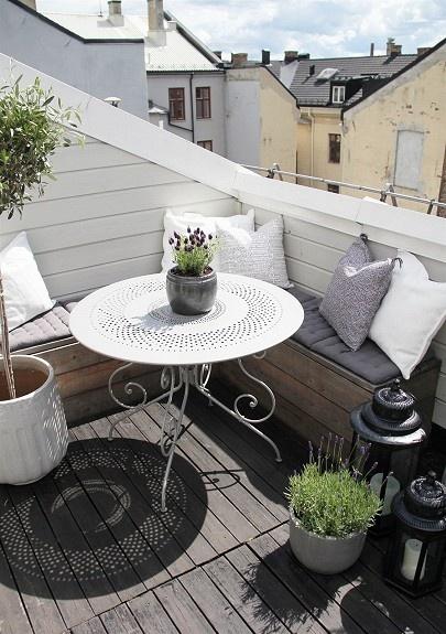 17 Best Images About Klein Balkon On Pinterest Dachterrasse Und Balkon Dekorieren 25 Ideen Fur Oase Der Grosstadt