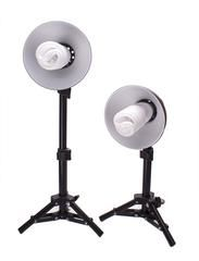 StudioPRO 300W Photography Table Top Photo Studio Lighting Kit - 2 Light Kit -  - 2