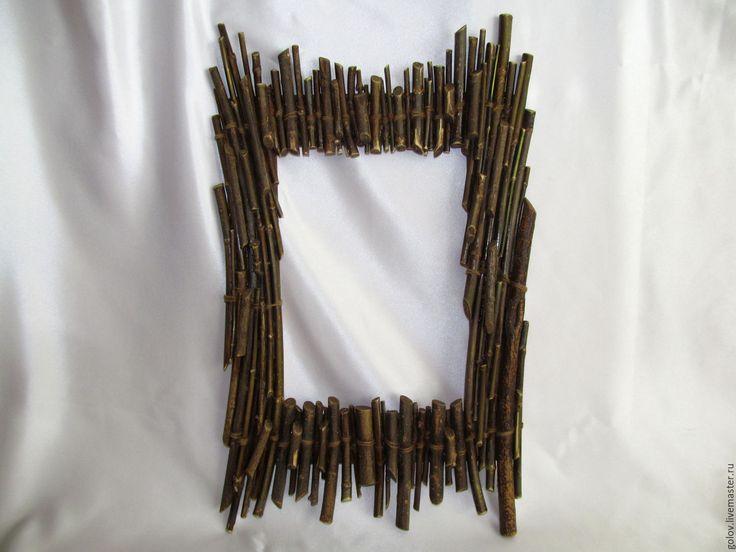 Купить Рамка Лесная 5 - комбинированный, фоторамка, зеркало, фотофон, интерьер, дизайн, креативные подарки