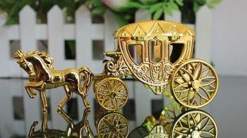 2014 novos chegada cavalos reais cart caixa de doces carruagem real para convites de casamento decoração de casamento suprimentos de férias