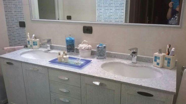 Bagno idea mobili sotto lavandini