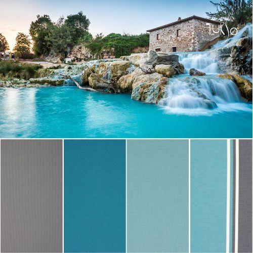 #Palette di #tessuti e #rivestimenti Flukso. #arredamento #interiordesign #contract