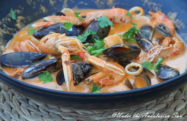 Zarzuela - Spanish fish soup