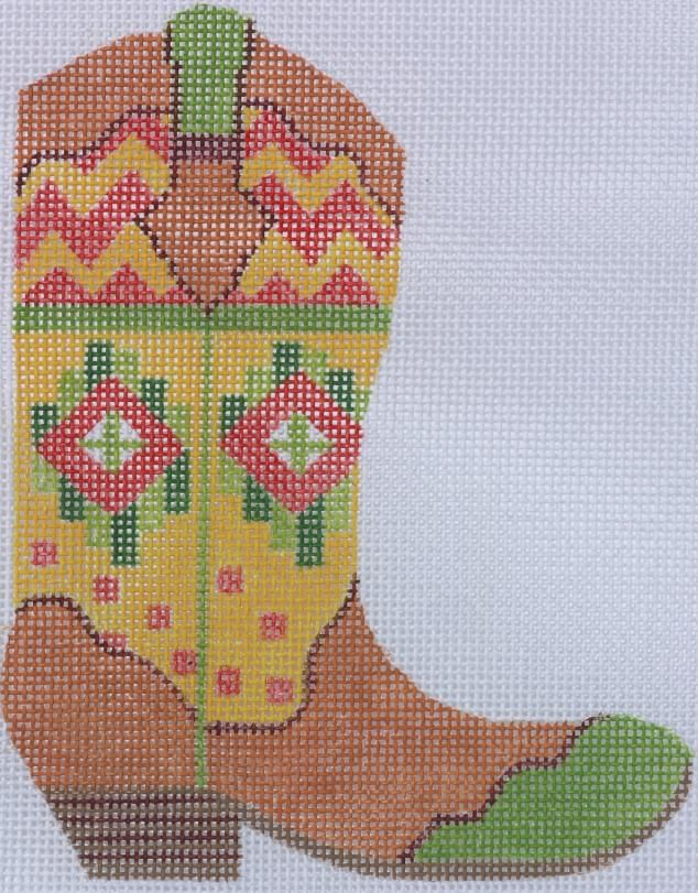 Kate Dickerson Needlepoint Cowgirl Up!